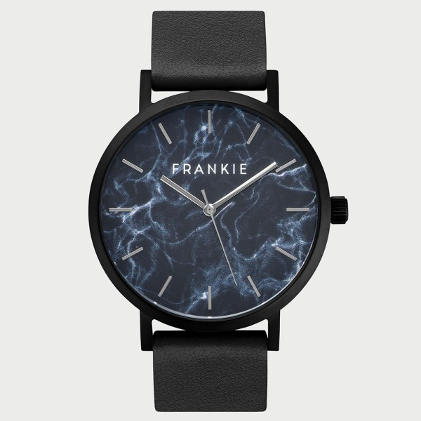 Frankie Black Marble Collection