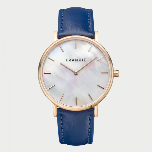 Frankie Seashell - Rose Gold / Navy